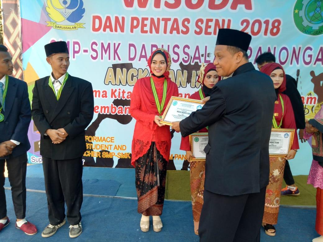 SMK Darussalam Panongan 2018